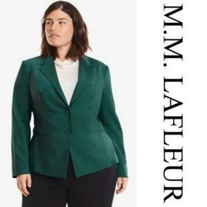 MM Lafleur The Ross Blazer in Viridian Green